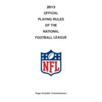 2013 NFL rule book.pdf